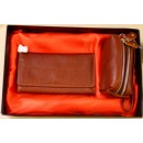 Women's Brown Leather Set