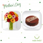 Mothers Day Chocolate Cake & Gerbera Package