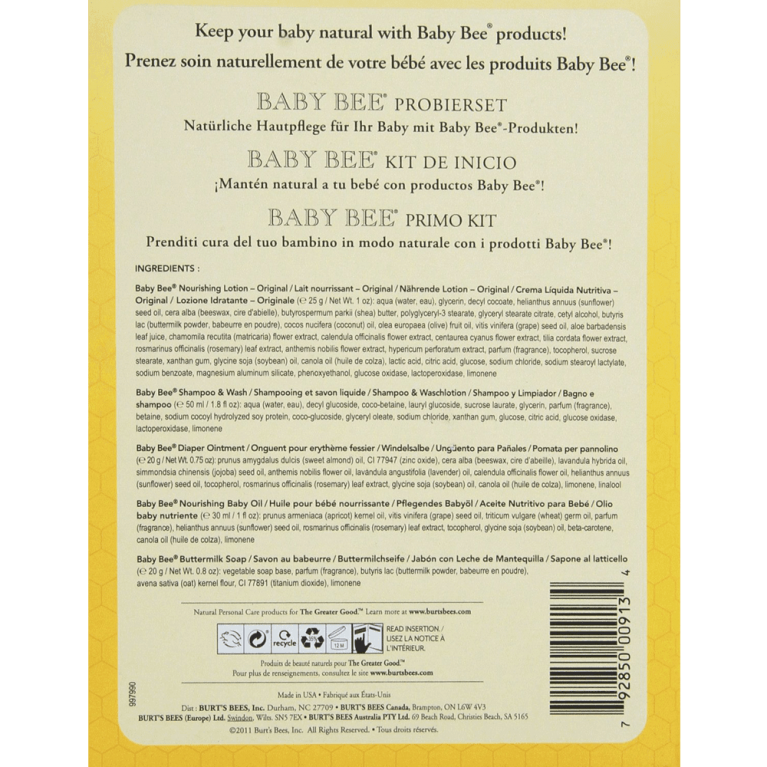 Baby Bee Getting Started Gift Set