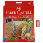 مداد رنگی 48 رنگ فابرکاستل مدل Classic