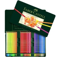 مداد رنگی 60 رنگ فابر-کاستل مدل Polychromos