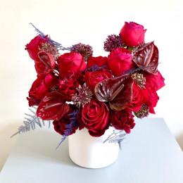 گلدان رویای قرمز