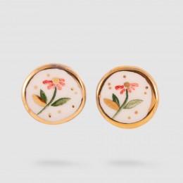 گوشواره گل سرخی