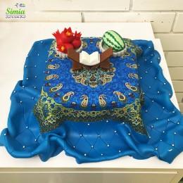 کیک یلدای قدیما