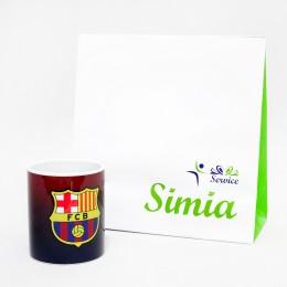 لیوان سرامیکی بارسلونا