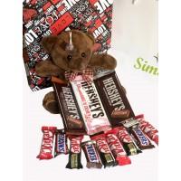 خرس شکلاتی