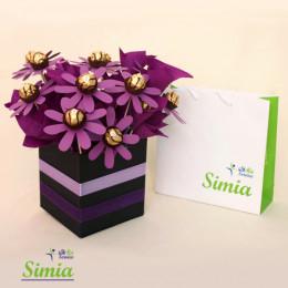 دسته  گل شکلات ۴