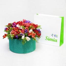 گلدان گلهای بهاری