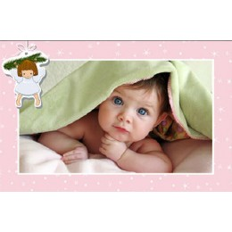 تخته شاسی نوزاد دختر فرشته