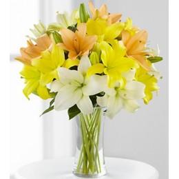 دسته گل یک روز آفتابی