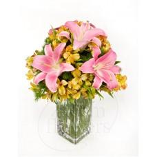 گلدان لیلیوم-آلسترومریا زعیم